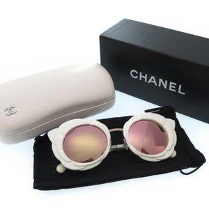 CHANEL Runway Camellia Sunglasses
